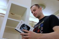 Буккросинг в УрФУ. Фото — Никита Гаранов