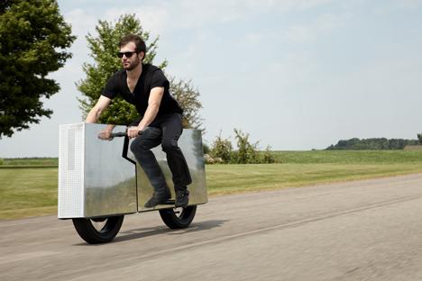 Бесшумный мотоцикл-недоделку создали вСША